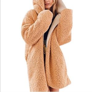 Urban outfitters oversized Sherpa